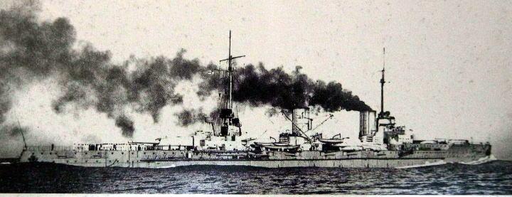 ドイツ海軍、巡洋戦艦フォンデア...
